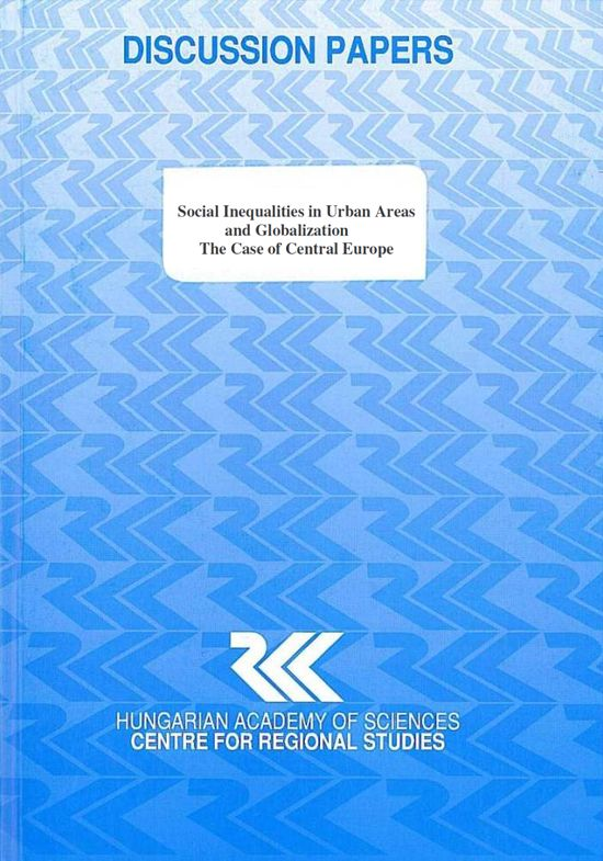 cover_Social Inequalities in Urban Areas and Globalization - The Case of Central Europe