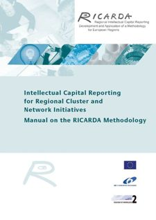 cover_Intellectual Capital Reporting for Regional Cluster and Network Initiatives - Manual on the RICARDA Methodology