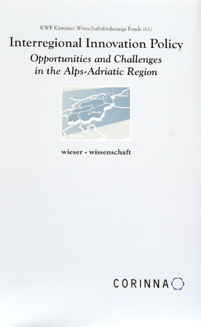 cover_Interregional Innovation Policy - Opportunities and Challenges in the Alps-Adriatic Region